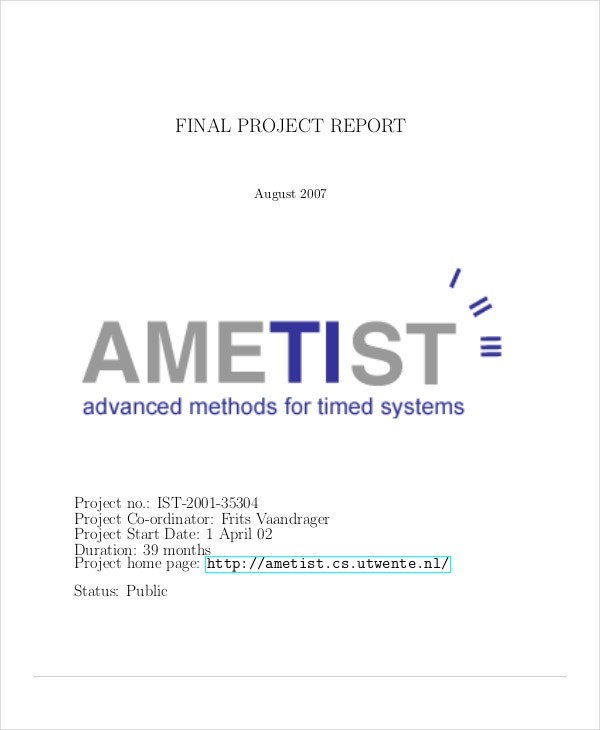 Final Project Report Template