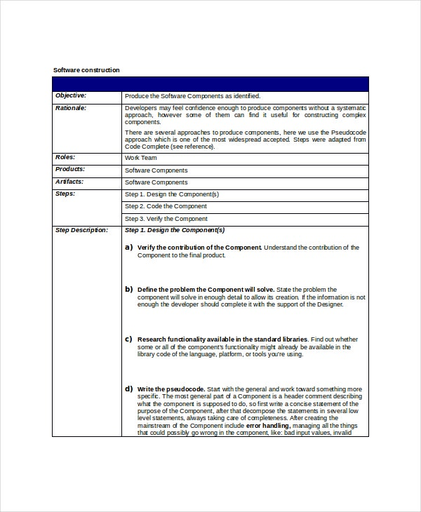 it project scope of work template - 8 project scope templates free pdf word documents