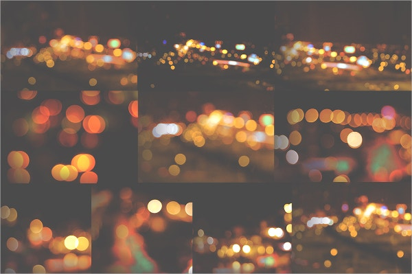 Blurred Bokeh Texture