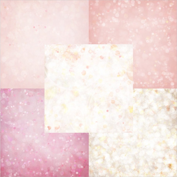 Digital Sheet Bokeh Textures