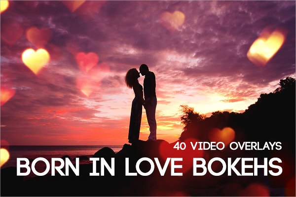 Born In Love Bokeh Texture