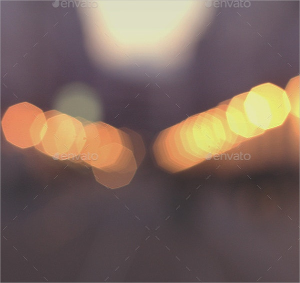 Coloured Bokeh Texture