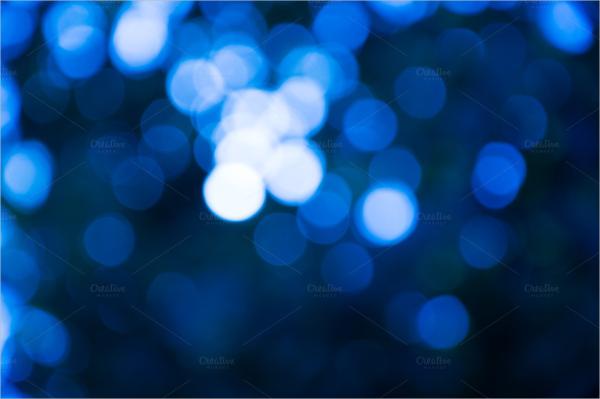 Blue Blur Backround Bokeh Texture