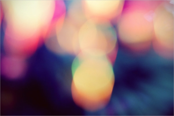 Abstract Bokeh Texture