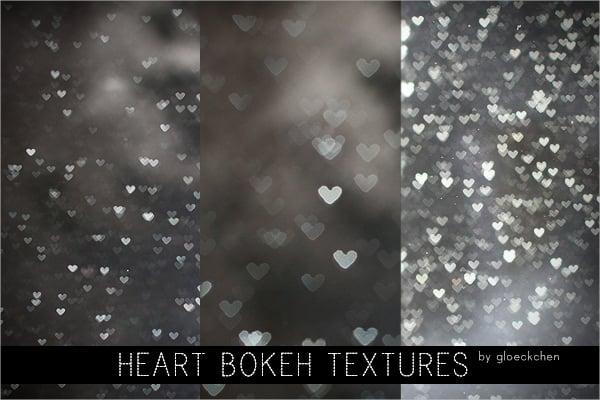 Heart Bokeh Textures
