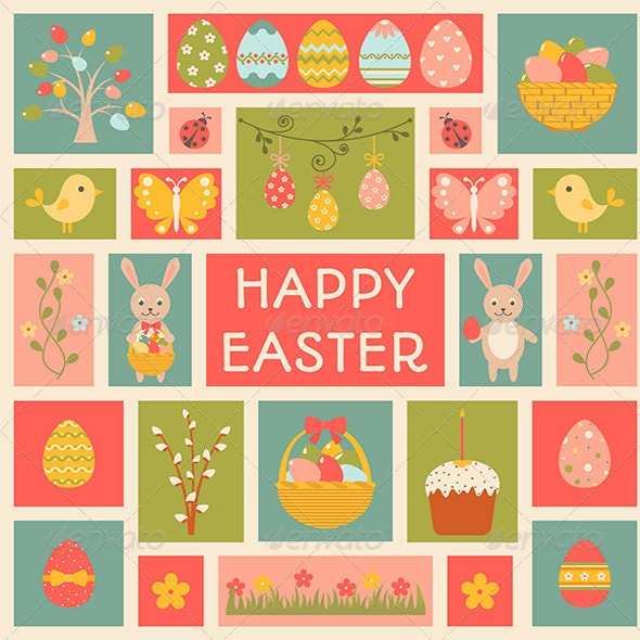 Holiday Easter templates