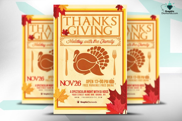 Thanksgiving Holiday Template