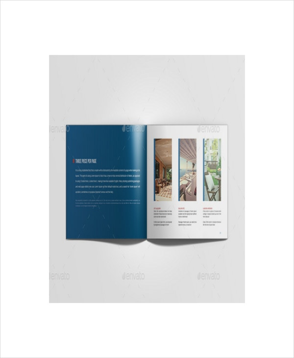 real estate marketing brochure template