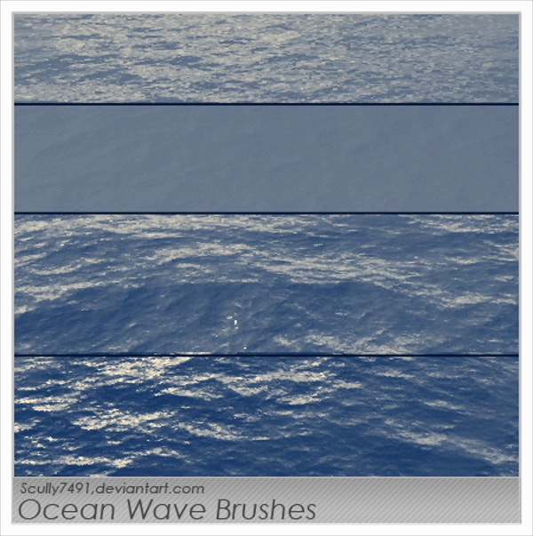 Ocean Wave Brushes