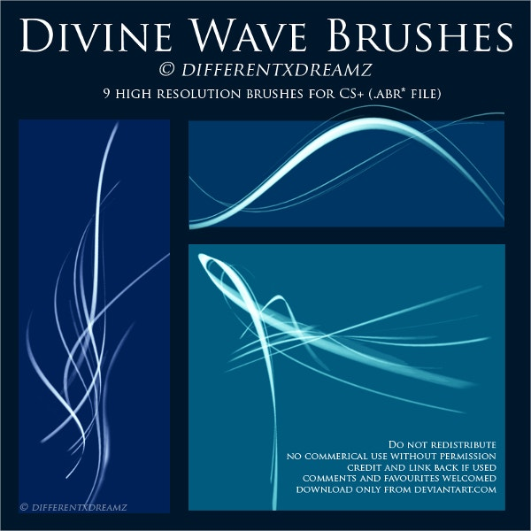 Divine Wave Brushes