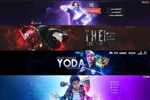 Nova Art Youtube Banner Template