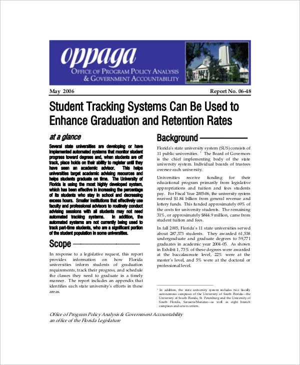 student tracking system project report