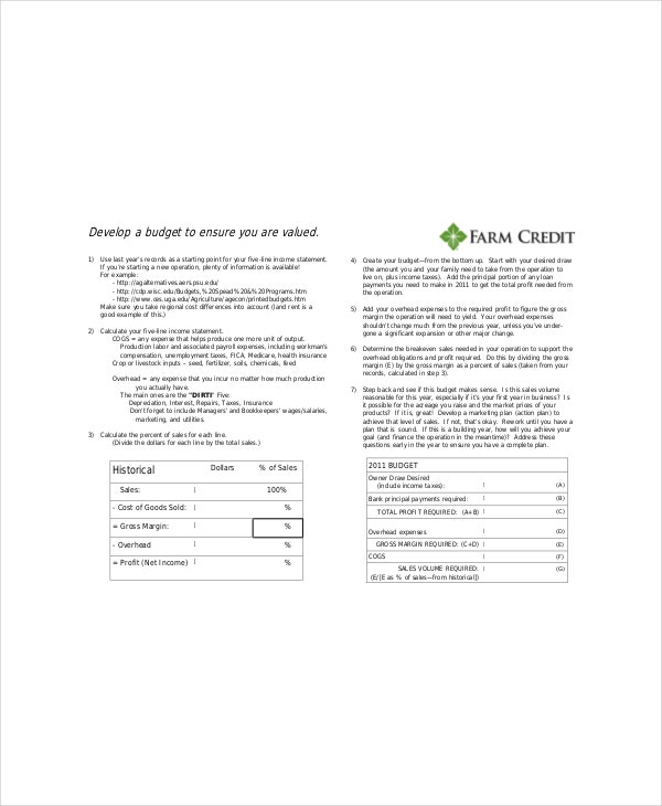 One Page Marketing Template – 7+ Free Word, PDF Documents Download ...