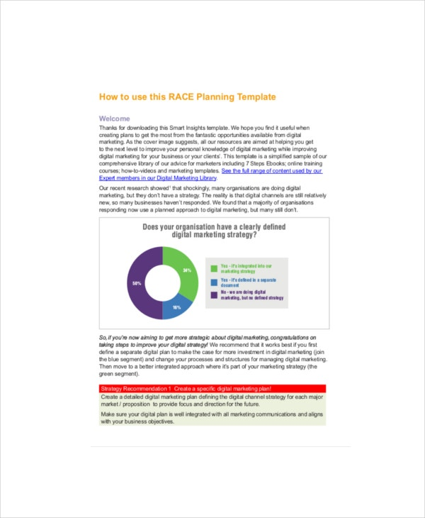 digital marketing strategy planning template2