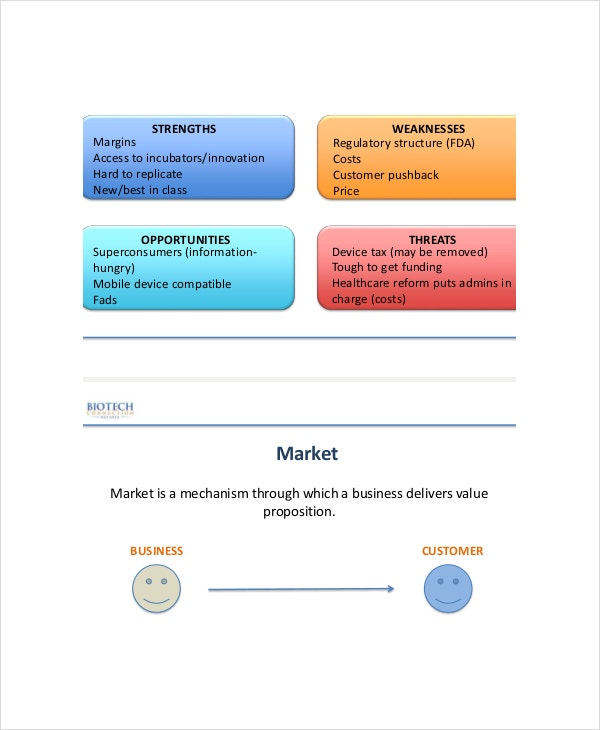 Marketing Analysis Templates  Free Sample Example Format