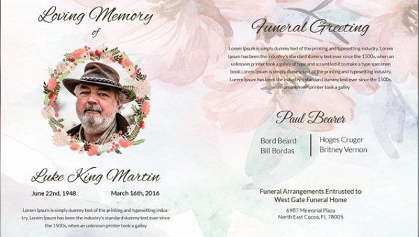 15 Funeral Card Templates Psd Ai Eps Free Premium Templates