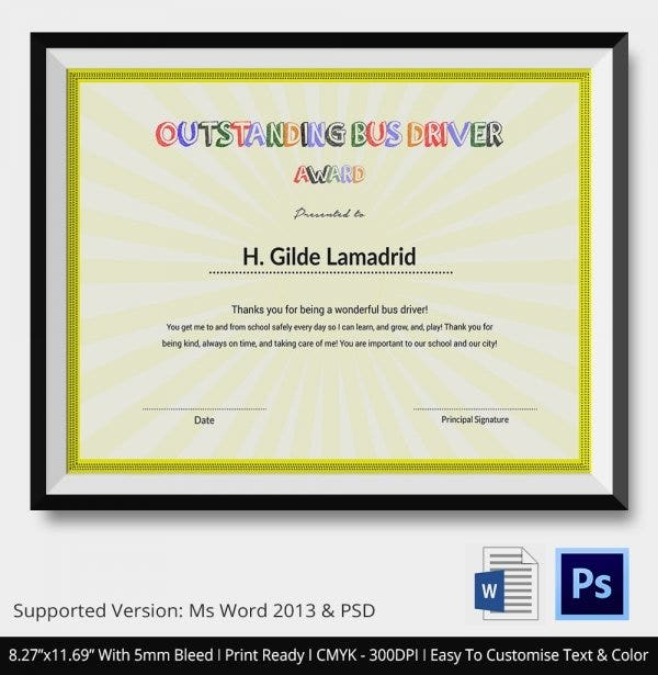 24 Certificate of Appreciation Templates Free Sample Example – Thank You Certificate Template
