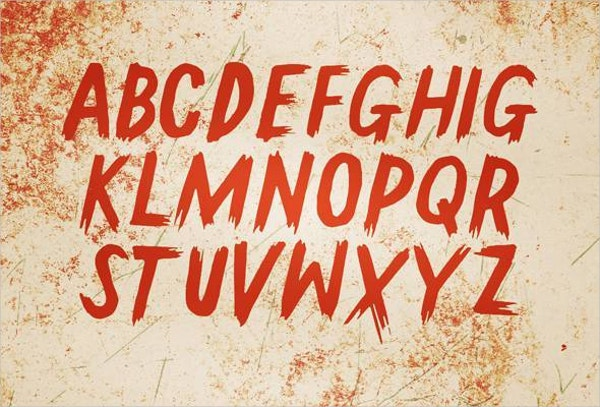 gallow tree horror font