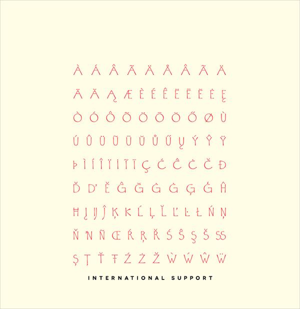 vexilla typeface horror fonts