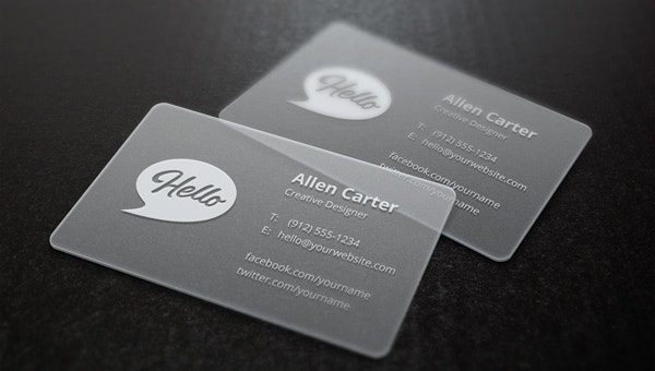 transparentbusinesscards