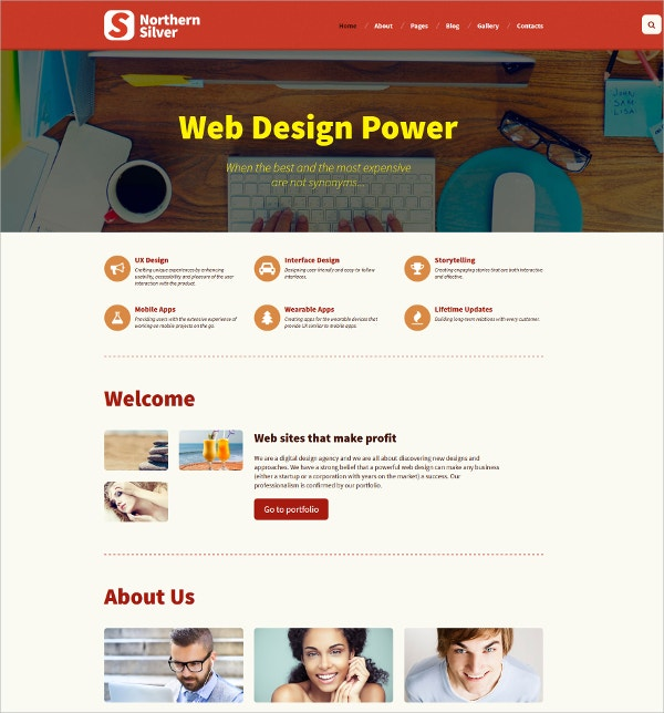 web design studio html5 joomla template 75