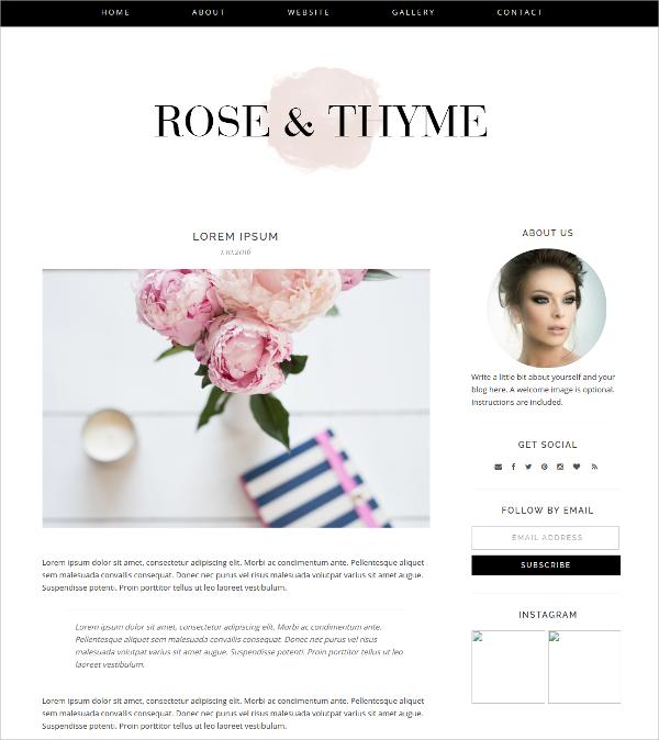 Design HTML5 Blogger Theme $30