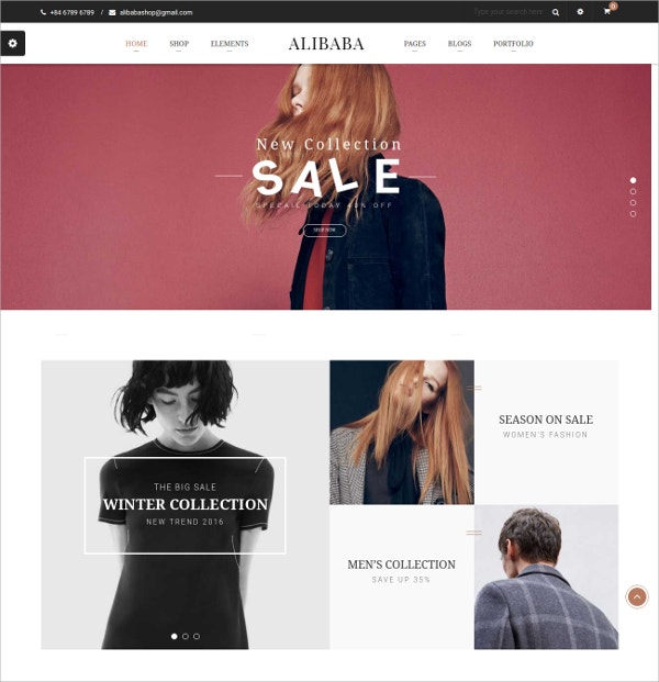 WooCommerce WordPress eCommerce Theme $59