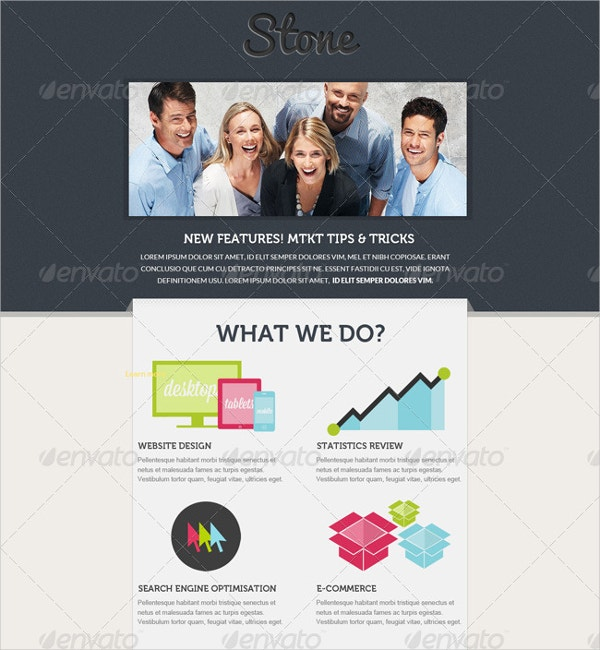 Email Marketing Templates Free Sample Example Format - Web design email marketing templates