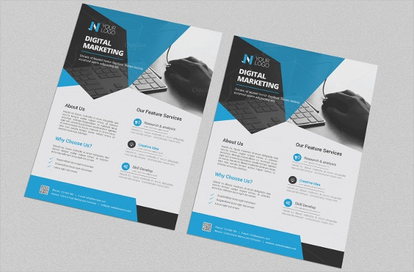 22 marketing flyer templates free sample example for Sales slick template