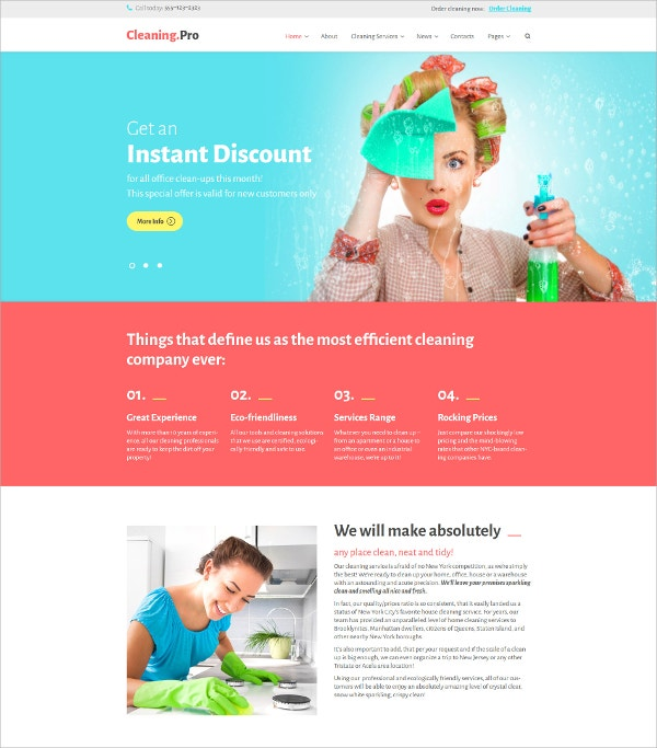 Responsive WordPress Theme $75