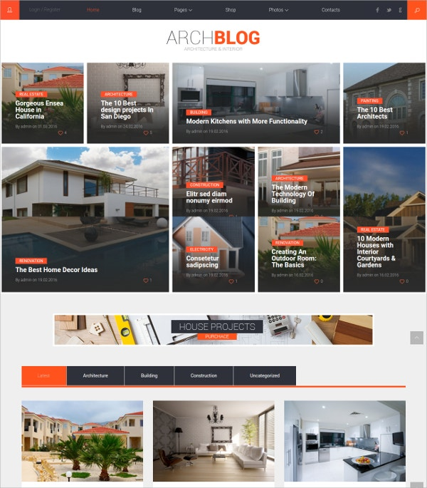 architecture portfolio wordpress theme 49