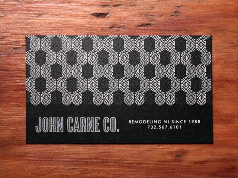 Branding Construction Business Card