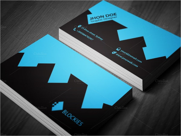 brand construction business card