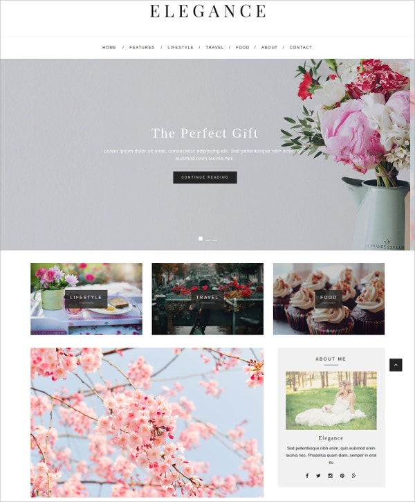 elegant wordpress blog theme 39