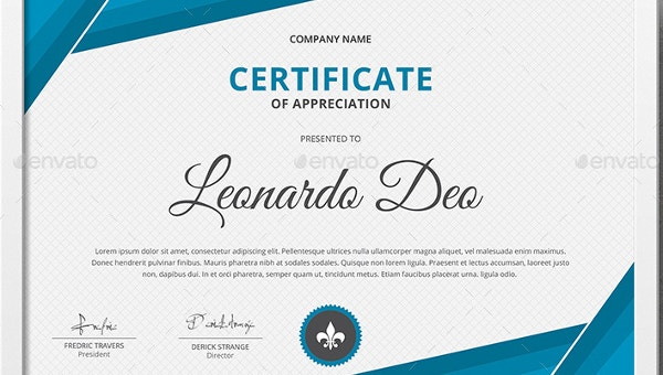 Certificate of Recognition Template - 15+ Free Word, PDF ...