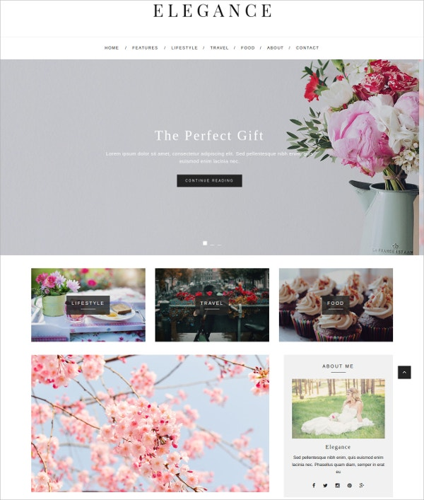 Fashion WordPress Blog Theme $39