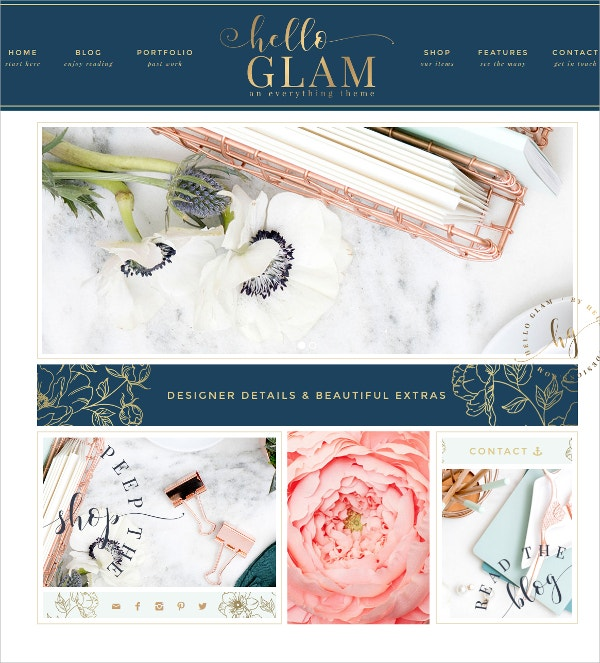 Event Planning WordPress Blog Theme $75