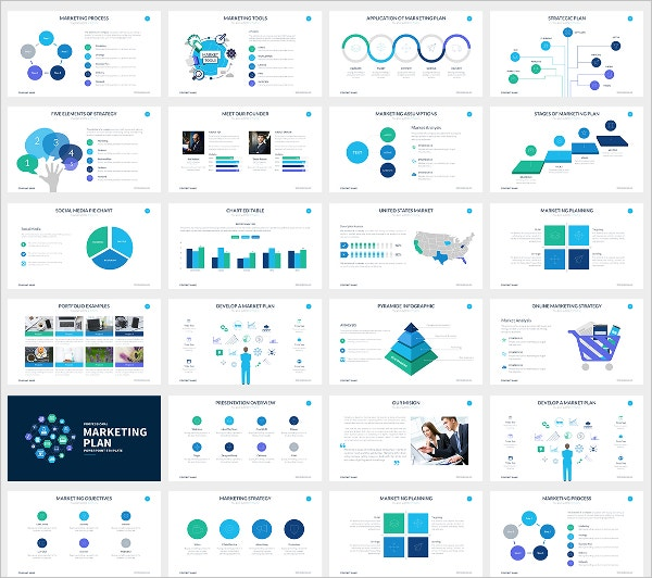 10+ Marketing Presentation Templates – Free Sample, Example Format