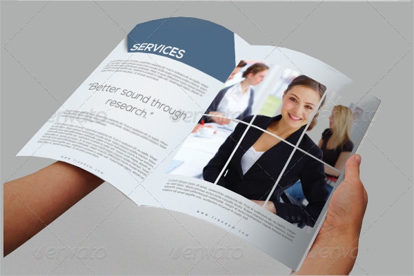 sample market brochure template