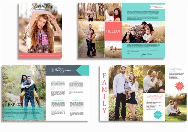 photography marketing brochure sample template