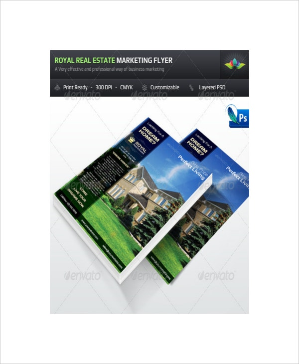 Sample Real Estate Marketing Flyer Template