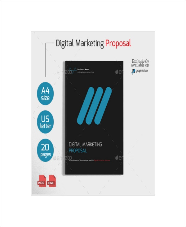 Sample Digital Marketing Proposal Template