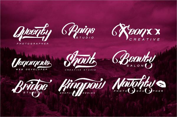 digital logo font