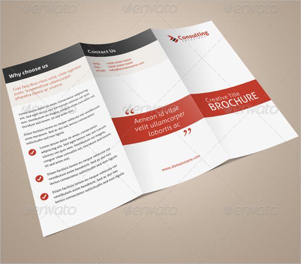 Consultation Tri-Fold Brochure