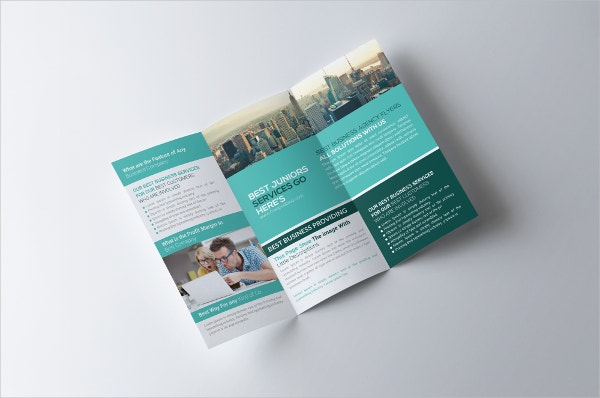 Insurance Consulting Trifold Brochure