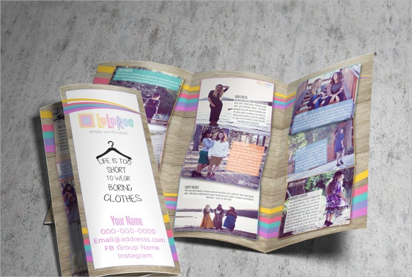 LuLaRoe Consultant Tri-fold Brochure