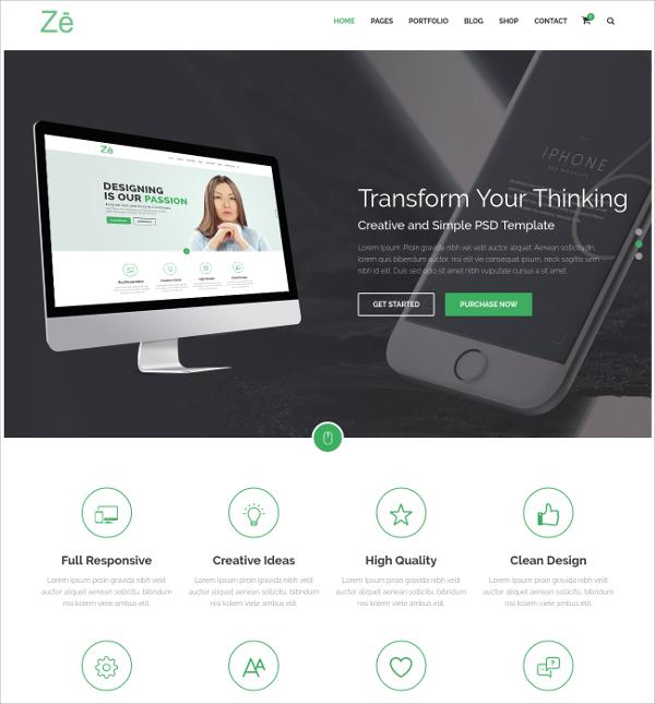 Business & Personal WordPress Theme $59