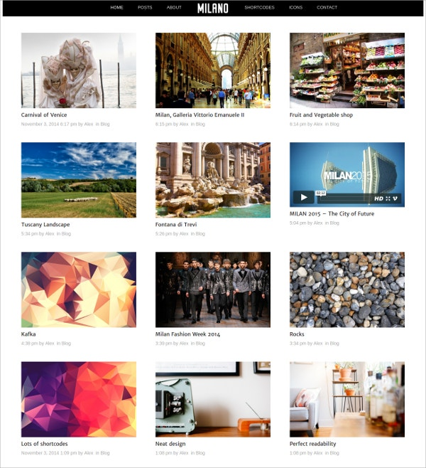 minimal photography responsive wordpress theme 3