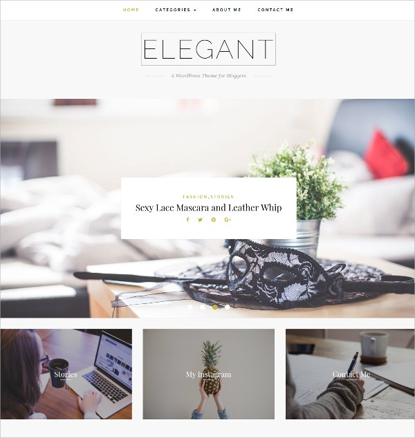 lifestyle blog minimal wordpress theme 25