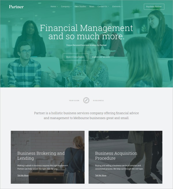 Accounting,Financial & Law Joomla Template $48